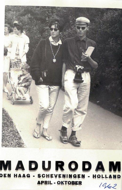 Min mor og min far som handelsstudent