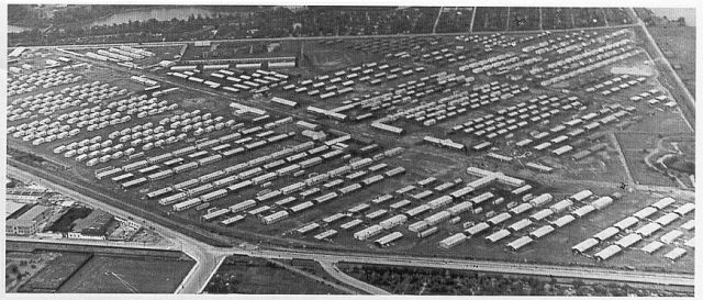 flygtningelejr tysk