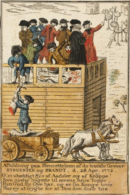 Henrettelsen af Struensee