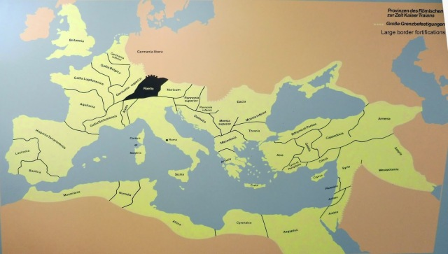 Roman provinces at the time of emperor Trajan